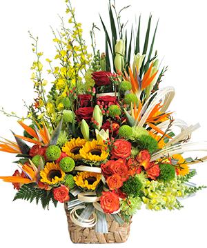 Hộp hoa sinh nhật HSN01