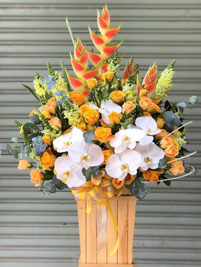 Hộp hoa tươi HHT21