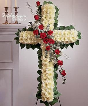 Vòng hoa công giáo HV021