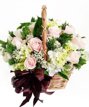 Giỏ hoa hồng GHT06
