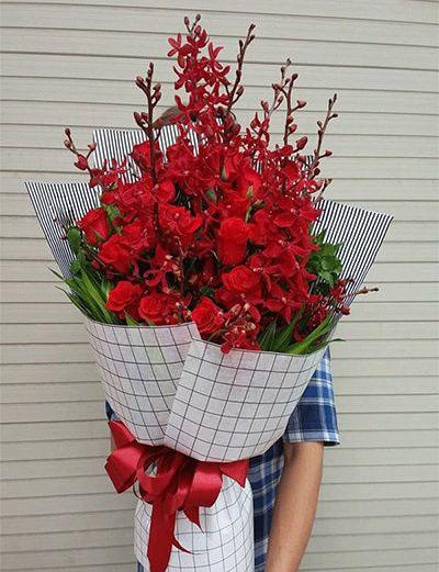 Bó hoa tươi BHT005