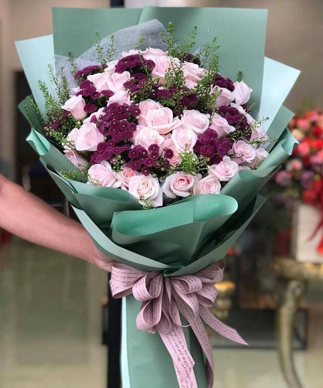 Bó hoa tươi BHT002