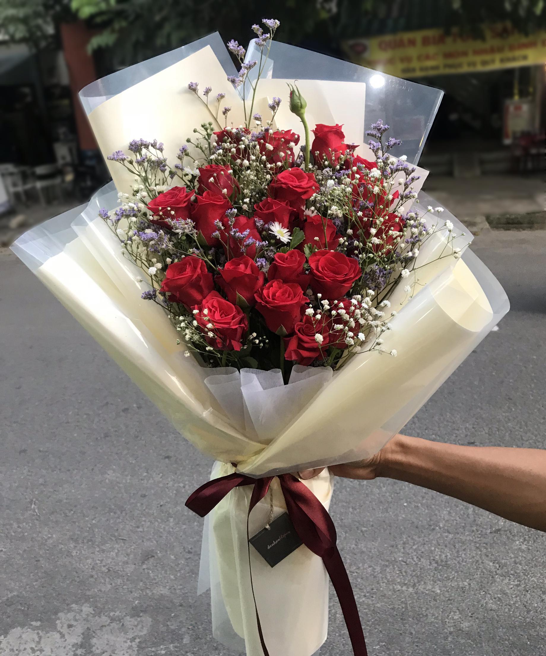 Bó hoa tươi BHT001