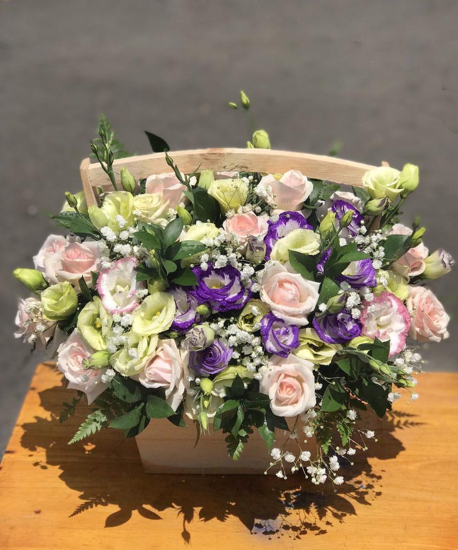 Hộp hoa tươi HHT027
