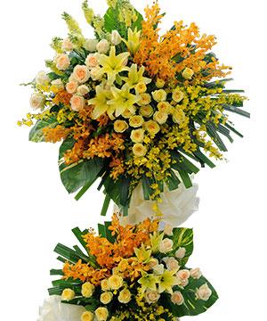 Hoa mừng khánh thành HKT011