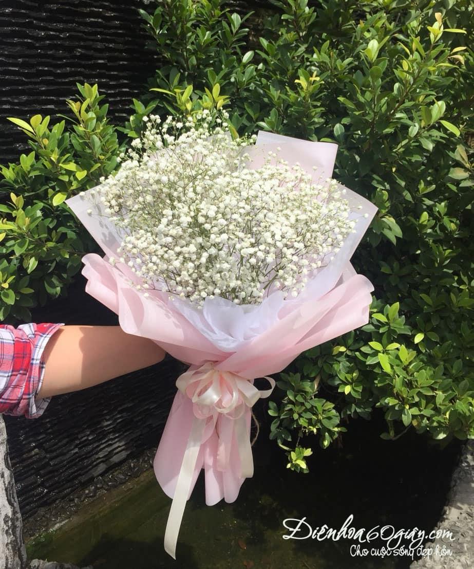 bó hoa baby