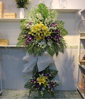Hoa chia buồn HV017