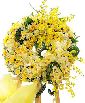 Vòng hoa đi viếng HV028