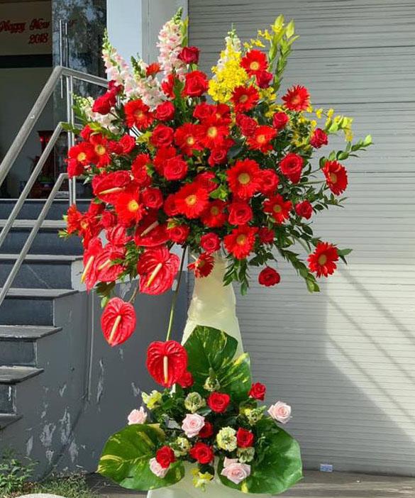 Hoa mừng tân gia HKT-027