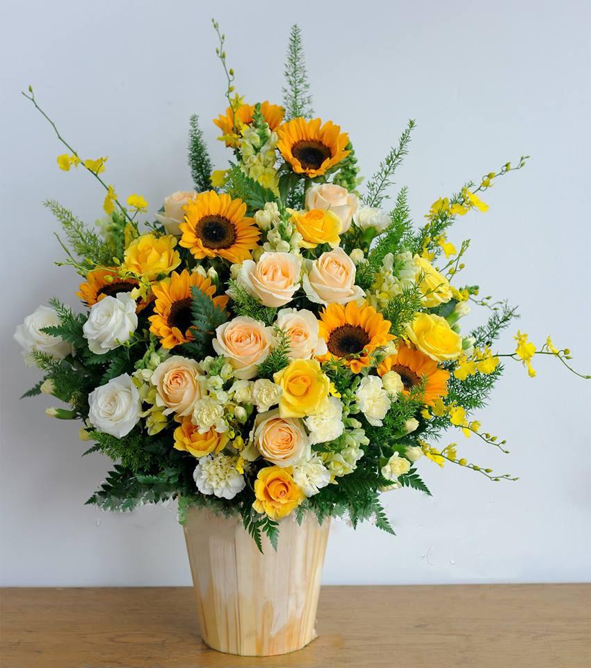 Hộp hoa tươi HHT04