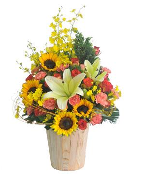 Hộp hoa tươi HHT11