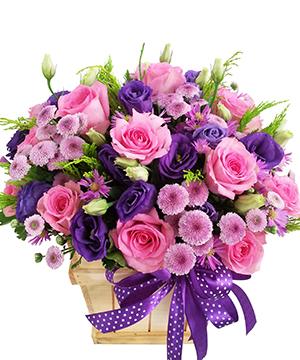 Hộp hoa tươi HHT15