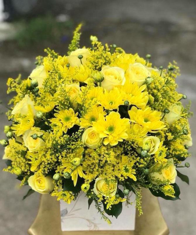 Hộp hoa tươi HHT22
