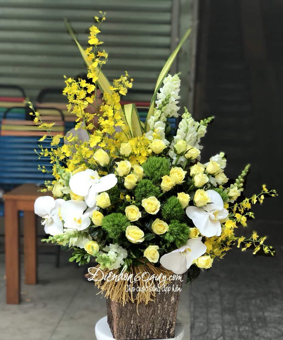 Hộp hoa tươi HHT08
