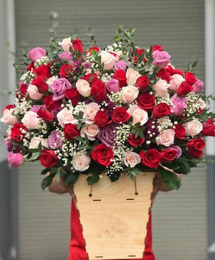 Hộp hoa tươi HHT17