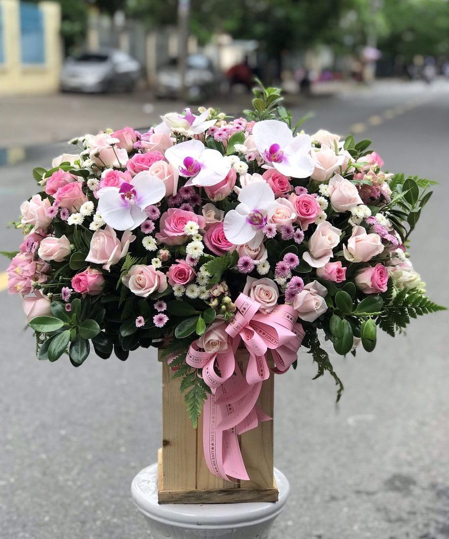 Hộp hoa tươi HHT24